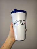 Operation Happenis Coffee Mug (with your $20.00 donation)